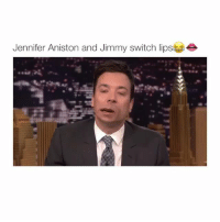 Your favorite emoji is your reaction: Jennifer Aniston and Jimmy switch lipse Your favorite emoji is your reaction