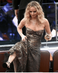 Instagram, Jennifer Lawrence, and Memes: Jennifer Lawrence might not have been up for an Oscar this year, but that didn't stop her from crackin' open the vino and pouring herself a glass ... or two, or more perhaps. 🤣😂 See more behind-the-scenes in our Instagram Story. tmz @toofabnews oscars jenniferlawrence redsparrow