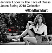 "Beautiful, Jennifer Lopez, and Memes: Jennifer Lopez Is The Face of Guess  Jeans Spring 2018 Collection  @balleralert  GUESS Jennifer Lopez Is The Face of Guess Jeans Spring 2018 Collection-blogged by @peachkyss ⠀⠀⠀⠀⠀⠀⠀ ⠀⠀⠀⠀⠀⠀⠀ Jennifer Lopez has gone from ""Jenny from the block"" to the face of Guess Jeans. Not only is the 48-year-old a triple threat but she's making history with being the oldest Guess girl in history to front for the brand. ⠀⠀⠀⠀⠀⠀⠀ ⠀⠀⠀⠀⠀⠀⠀ Lopez shared her excitement about being the face of the brand stating, ""When I got the call from Paul Marciano asking me to become the new Guess Girl, I was thrilled and excited to be a part of such an iconic brand that I have loved since I was a teenager. When I look back at early Guess campaigns through the years, you see all of these beautiful models and iconic images that Paul has created. It is a tremendous compliment to have been selected for Guess' Spring 2018 campaign."" ⠀⠀⠀⠀⠀⠀⠀ ⠀⠀⠀⠀⠀⠀⠀ Jennifer looked absolutely amazing. For the shoot, J. Lo rocked checkered shorts with a white button up, white stiletto pumps, and a black white belt. Talk about hotness!"