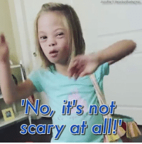 Down's syndrome 'is not scary at all': Jennifer SanchezInstagram  not Down's syndrome 'is not scary at all'