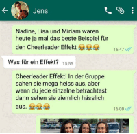 Cheerleader effekt