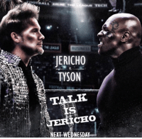 WEDNESDAY!!!: JERICHO  TYSON  VS  CHO  NEXT WEDNESDAY WEDNESDAY!!!