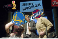 JERRY  NGEit  siRIN  LDE  Facebook.com/NOPSportscente RT @NOTSportsCenter: Today on Jerry Springer: it's Game 4 of the #NBAFinals! https://t.co/GoykfggU3j
