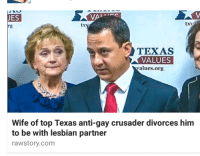 """Tumblr, Zombies, and Blog: JES  txv  TEXAS  VALUES  values.org  Wife of top Texas anti-gay crusader divorces him  to be with lesbian partner  rawstory.com <p><a class=""""tumblr_blog"""" href=""""http://zombies-with-radios.tumblr.com/post/149159527568"""">zombies-with-radios</a>:</p><blockquote> <p>sometimes art manifests itself in unlikely places</p> </blockquote>"""
