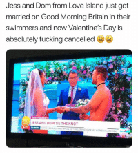 @madeinpoortaste is easily one of the best accounts on insta: Jess and Dom from Love Island just got  married on Good Morning Britain in their  swimmers and now Valentine's Day is  absolutely fucking cancelled  ENTERTAINMENT  JESS AND DOM TIE THE KNOT  bvNEWS  XFAMS DISGRACED HAITI OFFICIAL LEFT EARLIER POST OVER SEX.WORKER ALLEGATIONS @madeinpoortaste is easily one of the best accounts on insta
