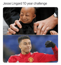 What a transformation: Jesse Lingard 10 year challenge What a transformation