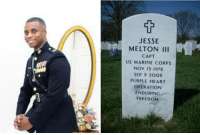 Memes, Afghanistan, and Heart: JESSE  MELTON III  CAPT  US MARINE CORPS  NOV 13 1978  SEP 9 2008  PURPLE HEART  OPERATION  ENDURING  FREEDONM Honoring USMC Captain Jesse Melton III, 29 of Randallstown, Maryland, KIA (September 9, 2008) in Afghanya Valley, Afghanistan. R.I.P. https://t.co/hXmRaaovuR
