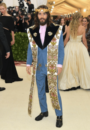Jesus Christ makes a surprise appearance at the 2018 Met Gala: Jesus Christ makes a surprise appearance at the 2018 Met Gala