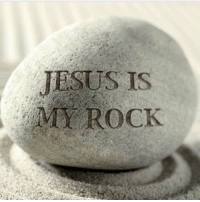 Memes, 🤖, and  My Rock: JESUS IS  MY ROCK