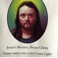 is that rich evans from red letter media: Jesus's Brother, Bryan Christ  Turns water into cold Coors Light is that rich evans from red letter media