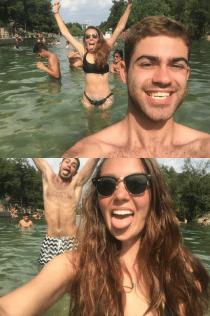 Life, Love, and Omg: jewsten:  the love of my life   omg is that the manmade lake looking over Austin?