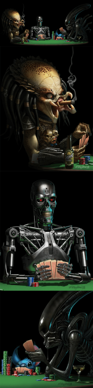"theartofmany:  Artist:  loopy daveTitle:  Always bet on blue""Never play cards if you are made of shiny surfaces""Hahaha, very clever concept…(can you spot Mr Potato Head? xD): Jeylent  Green  BEER  olaysane18   lel  Side  pentm  PROPERTY OF SKYNET  elagdave18   elaydae18 theartofmany:  Artist:  loopy daveTitle:  Always bet on blue""Never play cards if you are made of shiny surfaces""Hahaha, very clever concept…(can you spot Mr Potato Head? xD)"