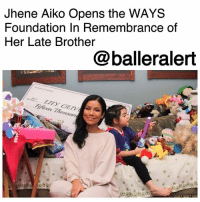 "Billboard, Christmas, and Definitely: Jhene Aiko Opens the WAYS  Foundation In Remembrance of  Her Late Brother  @balleralert  ousu Jhene Aiko Opens the WAYS Foundation In Remembrance of Her Late Brother - blogged by: @ashleytearra ⠀⠀⠀⠀⠀⠀⠀ ⠀⠀⠀⠀⠀⠀⠀ There are plenty of things to smile about, and singer-songwriter Jhene Aiko is definitely sure to spark a few smiles with her latest endeavor, the 'WAYS Foundation'. The 29-year-old launched the charity over Christmas weekend, in honor of her late brother, Miyagi, who passed away, after battling cancer, back in 2012. ⠀⠀⠀⠀⠀⠀⠀ ⠀⠀⠀⠀⠀⠀⠀ Through the newly-established organization, Aiko has set out to assist cancer patients and the families of those in need, providing not only financial but emotional comfort and support, as well. She made her first generous donation to Lily Olive Cosby, a five-year-old girl from Eagle Rock, California, who was recently diagnosed with leukemia. Aiko visited Cosby's home with a $15,000 check in hand to cover the little one's medical bills. ⠀⠀⠀⠀⠀⠀⠀ ⠀⠀⠀⠀⠀⠀⠀ When speaking with Billboard, Aiko says, ""This Christmas, I decided to gift my family with the 'WAYS Foundation,' something my family and I have had in the works since the passing of my brother,"" She expresses. ""I decided to make a donation on my family's behalf, in which we plan to continue to help people and families affected by cancer."" ⠀⠀⠀⠀⠀⠀⠀ ⠀⠀⠀⠀⠀⠀⠀ According to Billboard, the name of the foundation gains its significance from the phrase ""Why aren't you smiling?""-which is something that her brother once tweeted during his battle with the disease."