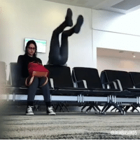 Girls, Memes, and Fitness: @JIEMBASANDS @fitbeast presents: Trying to pick up girls in the airport. By @jiembasands - fitbeast fitness workoutgoals