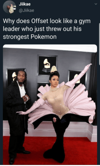 danktoday:  Fly type only by nocturnalpickle MORE MEMES  Why does cardi look like a dead flower: Jiikae  @Jikae  Why does Offset look like a gym  leader who just threw out his  strongest Pokemon danktoday:  Fly type only by nocturnalpickle MORE MEMES  Why does cardi look like a dead flower