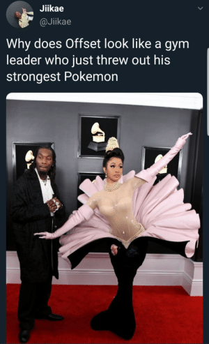 Fly type only by nocturnalpickle MORE MEMES: Jiikae  @Jikae  Why does Offset look like a gym  leader who just threw out his  strongest Pokemon Fly type only by nocturnalpickle MORE MEMES