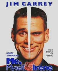 Lmao I love this movie because Charlie is like my OC, Rocky. And Hank is like my other OC, Jingo.: JIM CARREY  FROM  GENTLE  RENEE  TO  MENTAL Lmao I love this movie because Charlie is like my OC, Rocky. And Hank is like my other OC, Jingo.