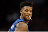 "Office, Today, and Silence: Jimmy Butler's had a busy day:  - Verbally challenged teammates, coaches and the front office at Wolves practice today - Took ""all the 3rd stringers"" and beat the starters in practice - Breaking his silence with a sit-down interview airing tonight"