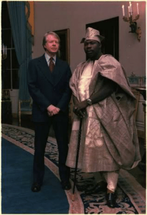 Jimmy Carter and the Fresh Prince of Nigeria invent Rap Music (circa. 1977): Jimmy Carter and the Fresh Prince of Nigeria invent Rap Music (circa. 1977)