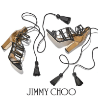 Jimmy Choo, Memes, and Sandals: JIMMY CHOO Be catwalk ready with the delicate yet daring DIAMOND sandals.