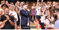 "Gif, Jimmy Fallon, and Rap: Jimmy Fallon! <p><a class=""tumblr_blog"" href=""http://mrsfallontimberlake.tumblr.com/post/128822643385"" target=""_blank"">mrsfallontimberlake</a>:</p> <blockquote> <p></p>  <p></p>  <p></p> <blockquote><p><small>Jimberlake throwing it to each other after another epic History of Rap!</small></p></blockquote> </blockquote>  <h2><a href=""https://www.youtube.com/watch?v=1omPNEVOIaM"" target=""_blank"">Reunited and it feels so good!</a></h2><figure data-orig-width=""400"" data-orig-height=""199"" class=""tmblr-full""><img src=""https://78.media.tumblr.com/e389f46a9120ea4c24fdfd701fecf00e/tumblr_inline_of216xV4oM1qgt12i_500.gif"" alt=""image"" data-orig-width=""400"" data-orig-height=""199""/></figure>"