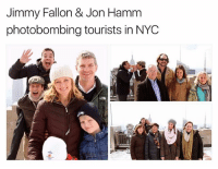 "@jimmyfallon became an American hero after his hit song ""Idiot Boyfriend"" topped the charts over a decade ago: Jimmy Fallon & Jon Hamm  photobombing tourists in NYOC @jimmyfallon became an American hero after his hit song ""Idiot Boyfriend"" topped the charts over a decade ago"