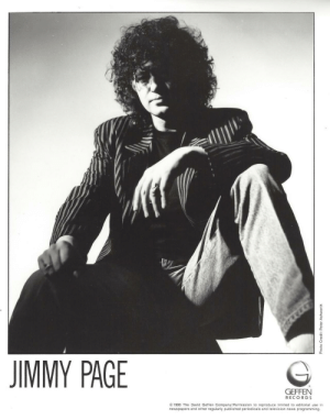 Birthday, News, and Tumblr: JIMMY PAGE  GEFFEN  RECO R D S  1988 The David Geffen Company/Permission to reproduce lmited to editorial use in  newspapers and other regularly published periodicals and television news programming.  9  9 its-alexandra-posts:  Happy 74th Birthday, Jimmy ❤