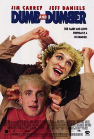Dank, Dumb, and Memes: JIN CARREY  JEFF DANIELS  DUMB-DUMBER  AND  OR HARRY AND LOND  MDA SA  HOMANEL The new poster by KagerH20 FOLLOW 4 MORE MEMES.