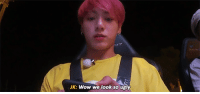 Lmao, Tumblr, and Ugly: JK: Wow we look so ugly kookmint:  JUNGKOOK LMAO