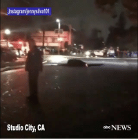 """Repost:@ABCNews-""""No serious injuries reported after sinkhole swallows two cars in StudioCity, California during severe storm."""" @JennySilva101😳🙏 WSHH: Jnstagramljennysilva101  Studio City, CA  abcNEWS Repost:@ABCNews-""""No serious injuries reported after sinkhole swallows two cars in StudioCity, California during severe storm."""" @JennySilva101😳🙏 WSHH"""