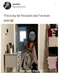 Memes, Twitter, and Best: jocelyn  @joss00000  This is by far the best one l've ever  seen  tay right there. you have to watch till the end 😭😭😭 (@joss00000 on Twitter)