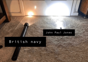 Tea: John Pau1 Jones  British navy Tea