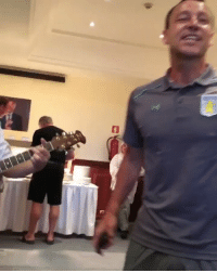 Soccer, John Terry, and Stand by Me: John Terry sings 'Stand By Me' at his @AVFCOfficial initiation. 😂👏    https://t.co/trYABsDCvq