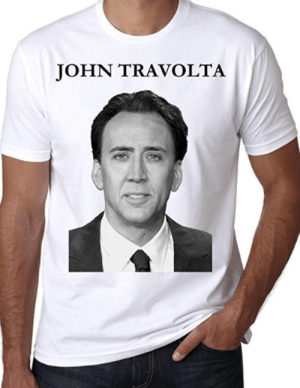 John Travolta, Start A, and Will: JOHN TRAVOLTA No need to start a conversation, people will talk to you anywayhttps://amzn.to/2Bpvb1F
