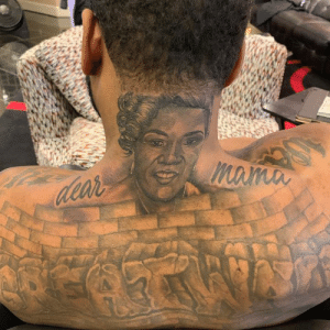 John Wall honors his mom with a new tattoo. He recently revealed she has cancer 🙏: John Wall honors his mom with a new tattoo. He recently revealed she has cancer 🙏