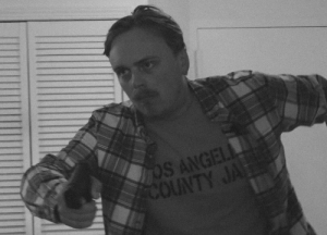 John Wilkes Booth moments before assassinating president Abraham Lincoln. (1865): John Wilkes Booth moments before assassinating president Abraham Lincoln. (1865)