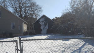 Johnny Cash, Town, and Cash: Johnny Cash Mural in a Small Town
