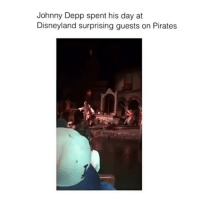 Disneyland, Johnny Depp, and Memes: Johnny Depp spent his day at  Disneyland surprising guests on Pirates Follow me (@hangars) for more! •ignore: • • • • • l4l likebackalways like4follow followforfollow likeforlikealways followforafollow likelikelike teamlikeback followplease followyou followmeback followfollow me tbt follow like4like likes carefree vogue vsco tumblr pretty