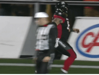 Johnny Manziel, Sports, and Cfl: Johnny Manziel approves this CFL TD celebration https://t.co/Dz7FfMmMiX