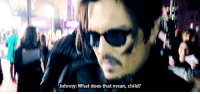 Bae, Johnny Depp, and Tumblr: Johnny: What does that mean, child? danhateseveryone:  bybyeblackbird:  Johnny Deppis baffled by the word 'bae' (x)  well considering it is being use in completely the wrong context i cant blame him, not to mention in the right context its still a stupid word.