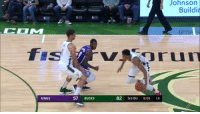 Memes, 🤖, and Com: Johnson  Buildi  COM  KINGS  57 BUCKS  82 3rd Qtr  8:06  15 RIP KOUFOS!    https://t.co/IVcRsBI0RH