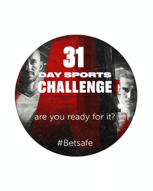 Join the  @Betsafe31 Day Sports Challenge starting 1/5/2020!  #betsafe #31daysportschallenge   18+ | https://t.co/PYHzKyExa6 https://t.co/LaCvskcGVu: Join the  @Betsafe31 Day Sports Challenge starting 1/5/2020!  #betsafe #31daysportschallenge   18+ | https://t.co/PYHzKyExa6 https://t.co/LaCvskcGVu