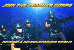 Now we are talking by TrollerCoaster870 FOLLOW 4 MORE MEMES.: JOIN THE TEACHER CORPS  BECOME A SEHDDLTEAEHER TODAY Now we are talking by TrollerCoaster870 FOLLOW 4 MORE MEMES.