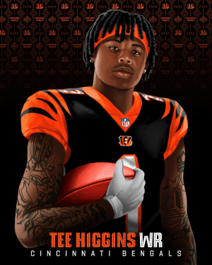 Joining @Joe_Burrow10 in the @Bengals rookie class...  @ClemsonFB WR Tee Higgins! #NFLDraft https://t.co/STC2WfNlRg: Joining @Joe_Burrow10 in the @Bengals rookie class...  @ClemsonFB WR Tee Higgins! #NFLDraft https://t.co/STC2WfNlRg