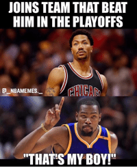 """I'm dead 😂💀 Who remembers 2015 👀 - Follow @_nbamemes._: JOINS TEAM THAT BEAT  HIM IN THE PLAYOFFS  CHICA  E NBAMEMES,  THAT'S MY BOY!"""" I'm dead 😂💀 Who remembers 2015 👀 - Follow @_nbamemes._"""