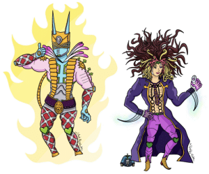 JoJoJoJoGioJoJoJo's true enemy, the ultimate lifeform: Kardiovolo Pucciralentine and his stand, [Dirty Killer Moon Snake King Attack Made in the World: Bites the Epitaph]: JoJoJoJoGioJoJoJo's true enemy, the ultimate lifeform: Kardiovolo Pucciralentine and his stand, [Dirty Killer Moon Snake King Attack Made in the World: Bites the Epitaph]