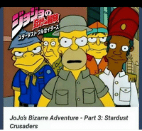 Jojo Bizarre Adventures: JoJo's Bizarre Adventure Part 3: Stardust  Crusaders