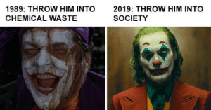 Joker evolution: Joker evolution