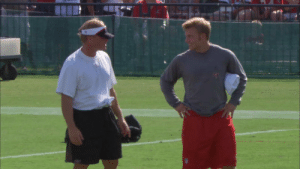 Jon Gruden gave Sean McVay his first job in the NFL over 10 years ago...  Now they're facing off against each other as head coaches.  📺: #HardKnocks with the @Raiders TONIGHT at 10 p.m. ET. https://t.co/7NOEmteqYK: Jon Gruden gave Sean McVay his first job in the NFL over 10 years ago...  Now they're facing off against each other as head coaches.  📺: #HardKnocks with the @Raiders TONIGHT at 10 p.m. ET. https://t.co/7NOEmteqYK