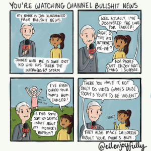 Jon sometimes has trouble understanding young people. [OC]: Jon sometimes has trouble understanding young people. [OC]